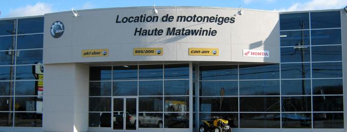 location motoneige