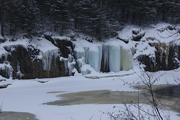chutes gelees