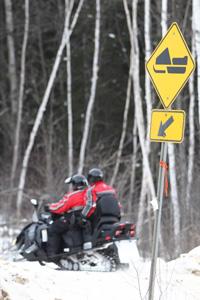 signalisation sentier canada