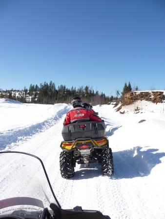 quad neige canada