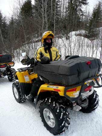 Accompagnateur quad
