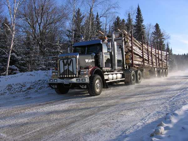 Camion Quebec