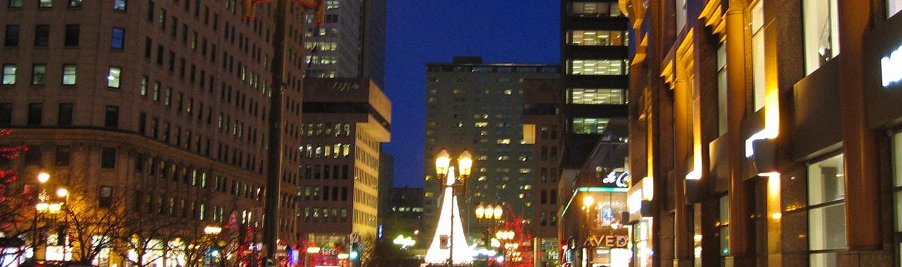 images des rues de montreal