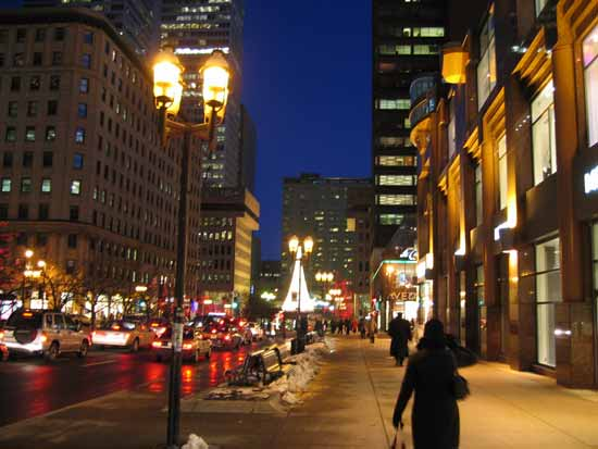 nuit a montreal