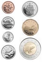 pieces monnaie canadienne