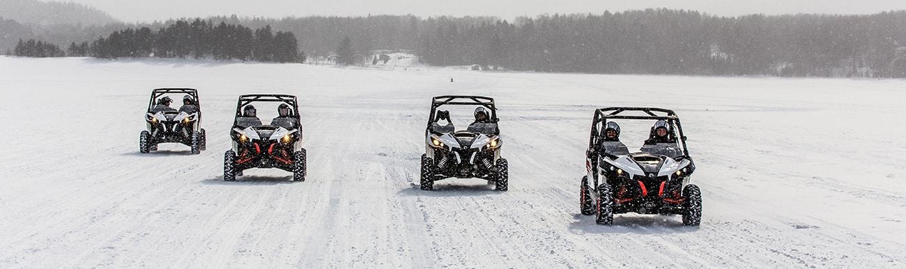 le combat des neiges au canada