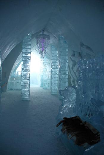 colonne de glace