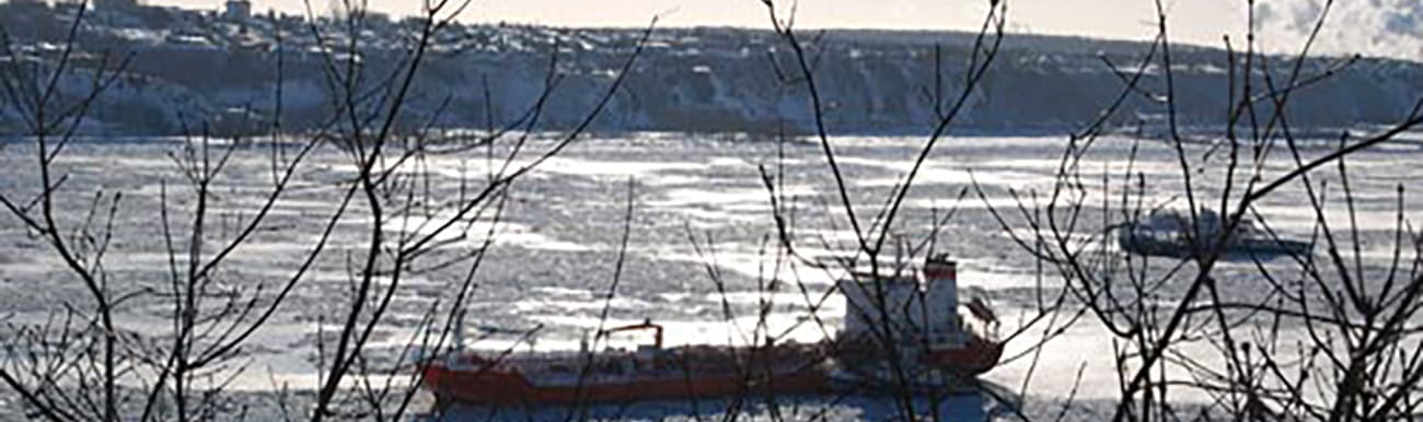saint laurent dans la glace