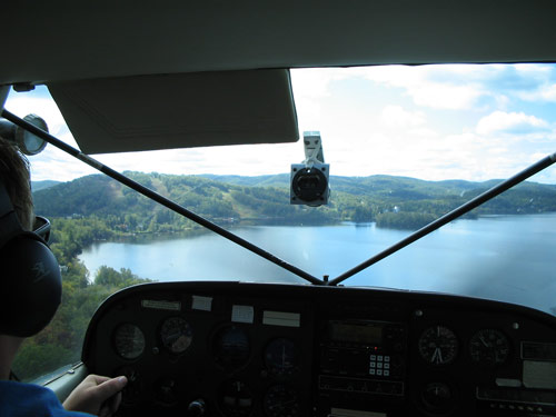 vue d'hydravion