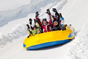 rafting sur neige