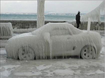 voiture gelee quebec
