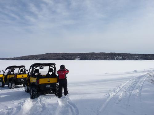 buggy sur lac