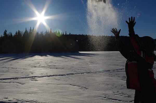 danse de la neige