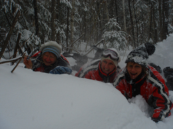 embuscade de boule de neige