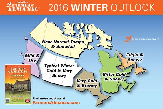 2016 carte prevision hiver