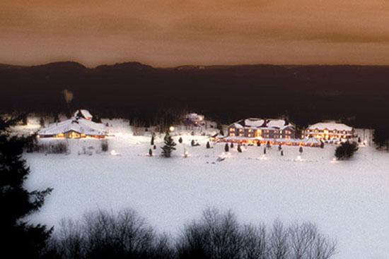 Voyage hiver séjour dans les auberges de la for u00eat et en pourvoirie # Auberge De La Rive Du Bois