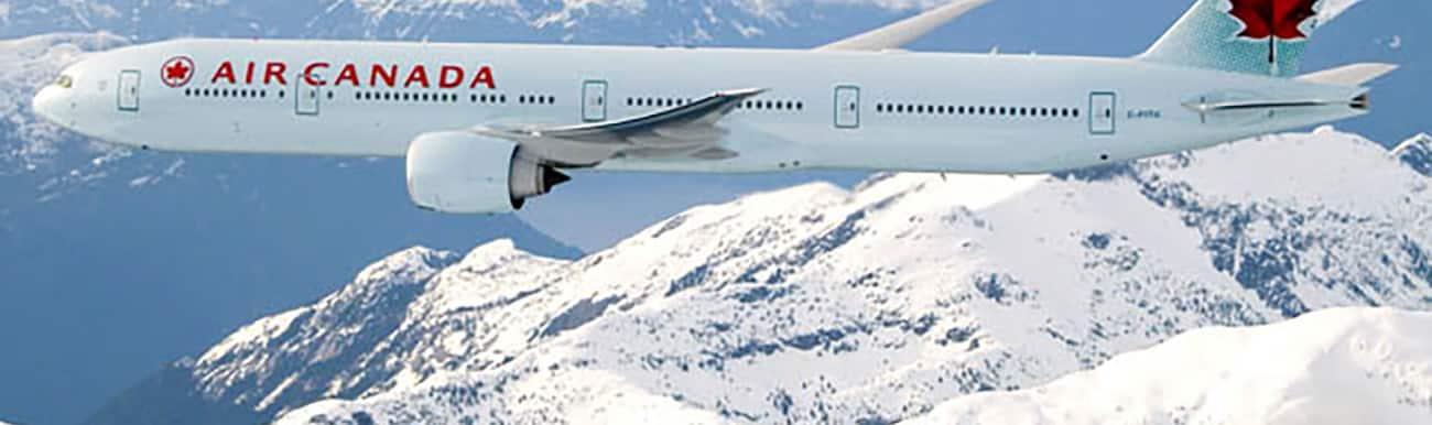 voyage au canada vol air canada paris montreal