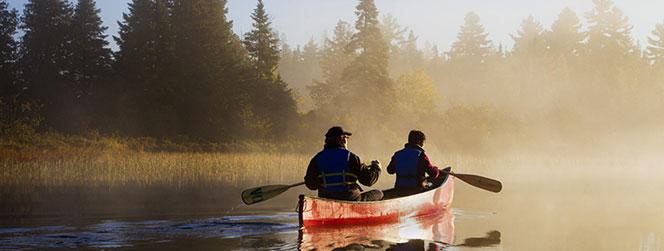 activité canot au quebec