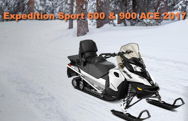 motoneige expedition sport 600 2017