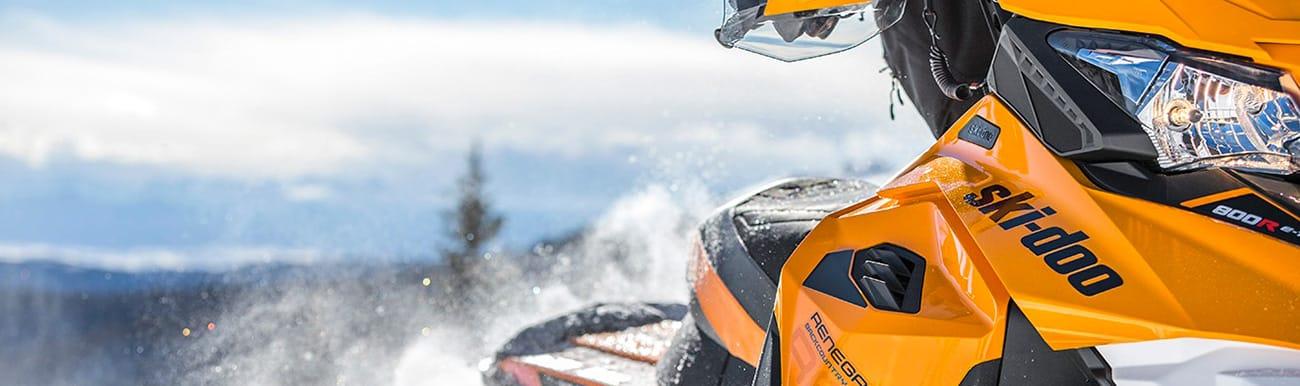 motoneige bombardier ski doo 2017