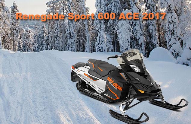 motoneige renegade sport 600 2017