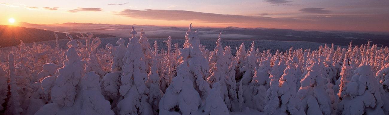 voyage canada hiver