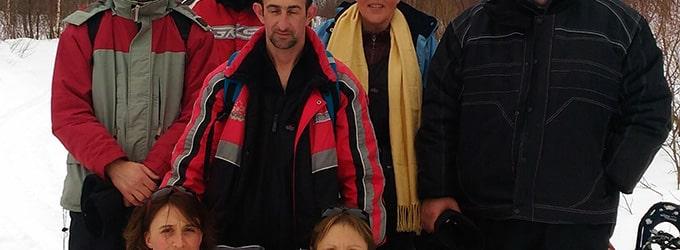 voyage fabrice delphine et amis au canada