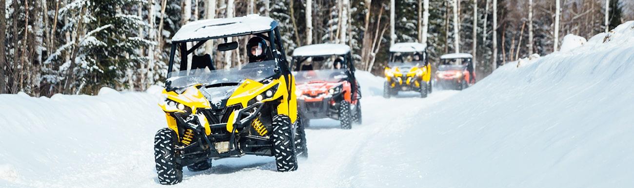 buggy des neiges au canada