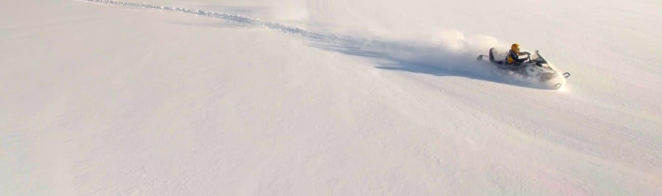 raid moto neige hors piste