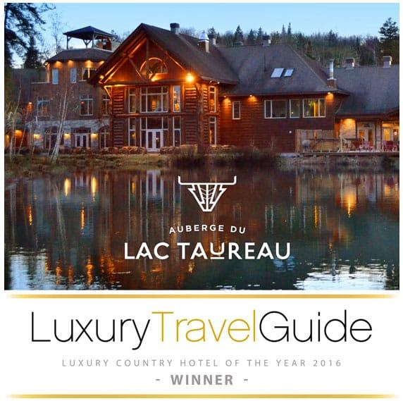 auberge lac taureau luxury travel guide