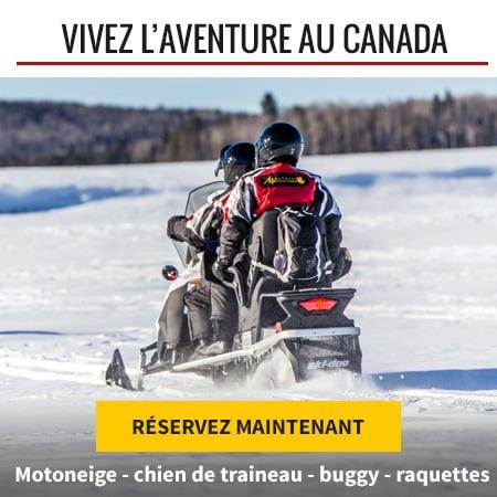 Réservez votre voyage au Canada