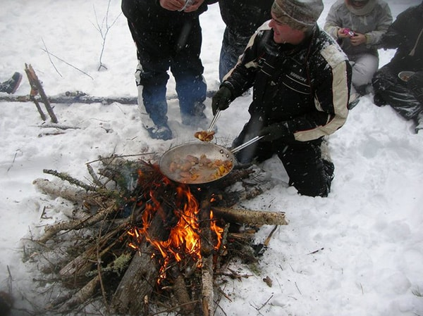 pic nic hiver canada