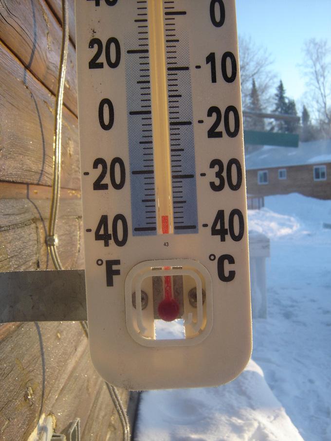 temperature hiver québec