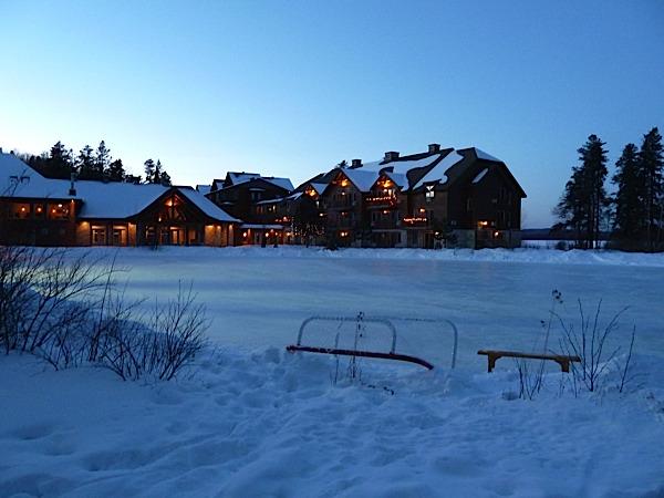 nuit à l'hotel au Canada