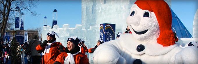 Québec et sont carnaval d'hiver