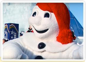Carnaval de Québec : le vrai jeu d'hiver