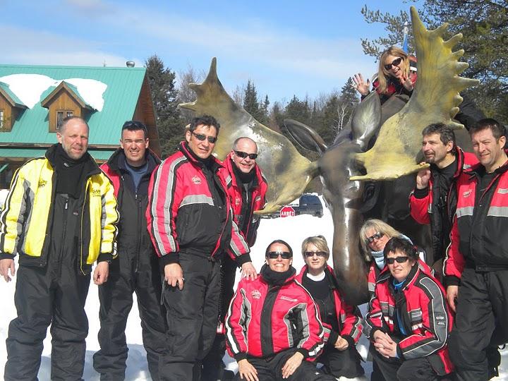 Groupe cabanne au Canada