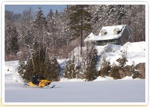 La pourvoirie du lac blanc : Auberge en forêt 5 étoiles et luxueux chalet