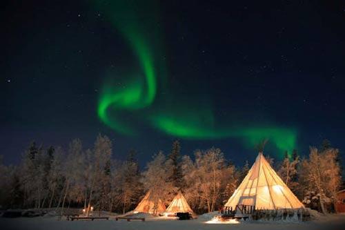 aurores boreales quebec