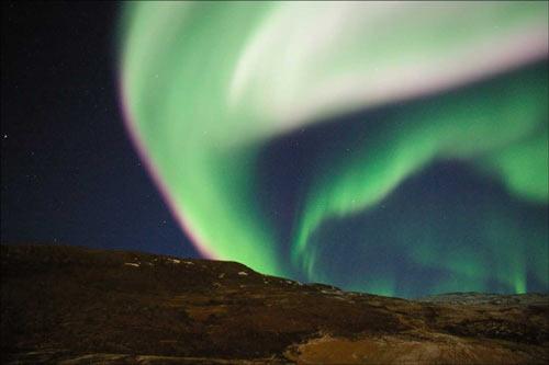 canada aurore boréale