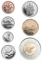 pieces monnaie canadienne