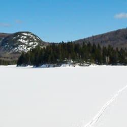 etendues quebecoises en hiver