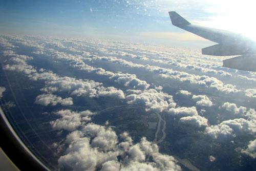 canada vue avion