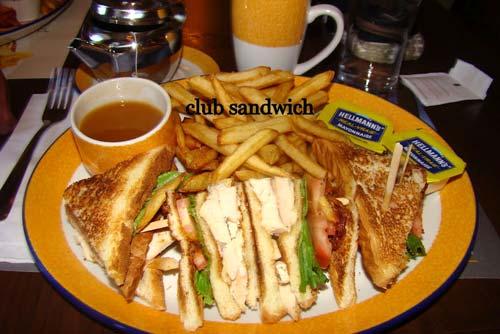 club sandwich au canada