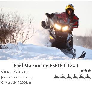 Forfait raid expert 1200 2014