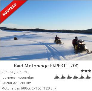 Forfait raid expert 1700 2014
