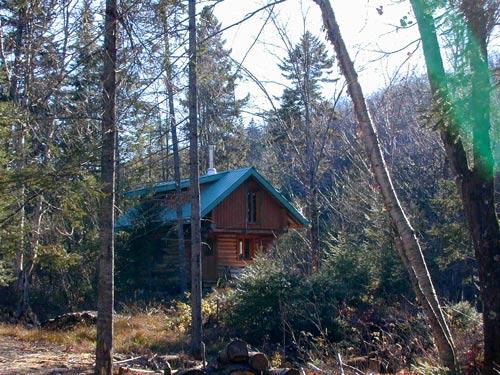 ma cabanne dans les bois