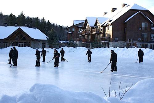 match de hockey sur glace