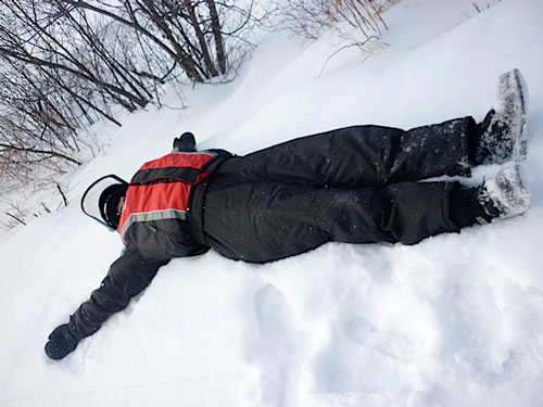 La sieste en s jour hiver au qu bec - Grosse fatigue d un coup ...