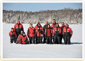Images de nos groupes de voyageurs au Québec